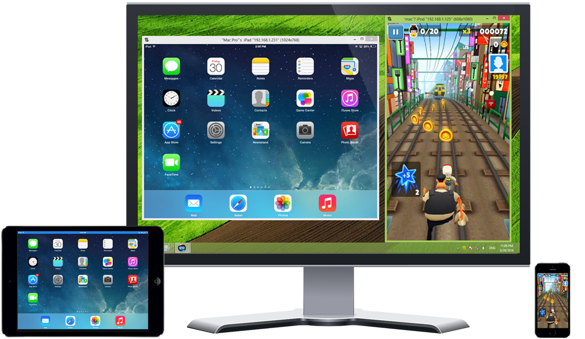 How to mirror iphone ipad screen on windows pc zitebb for Mirror iphone to pc